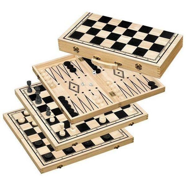 Šah & Backgammon & Dama