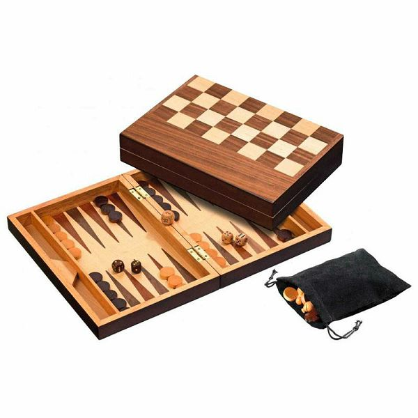 Šah & Backgammon & Dama No. 2508
