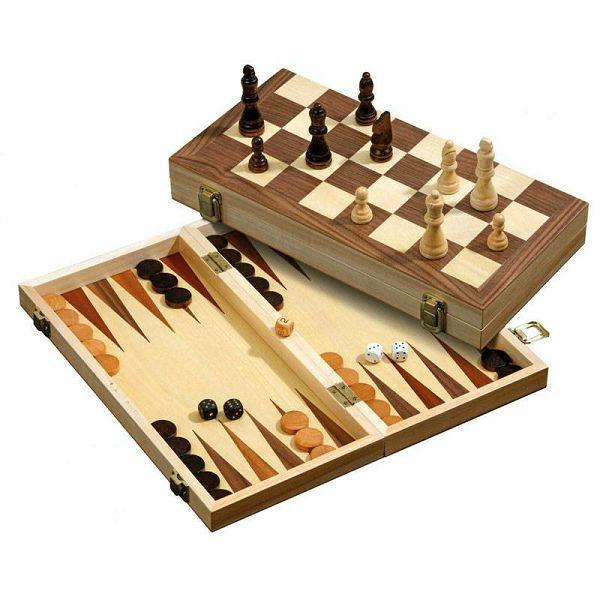Šah & Backgammon & Dama No. 2509