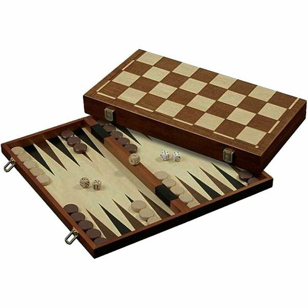 Šah & Backgammon & Dama No. 2510
