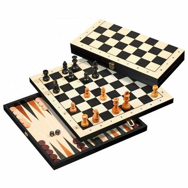 Šah & Backgammon & Dama No. 2514