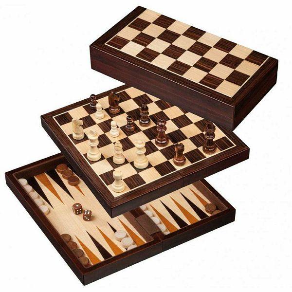 Šah & Backgammon & Dama No. 2516