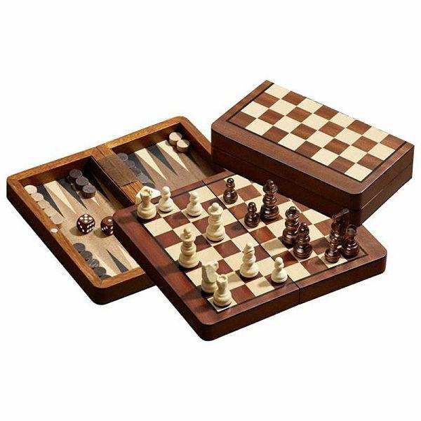 Šah & Backgammon & Dama No. 2517
