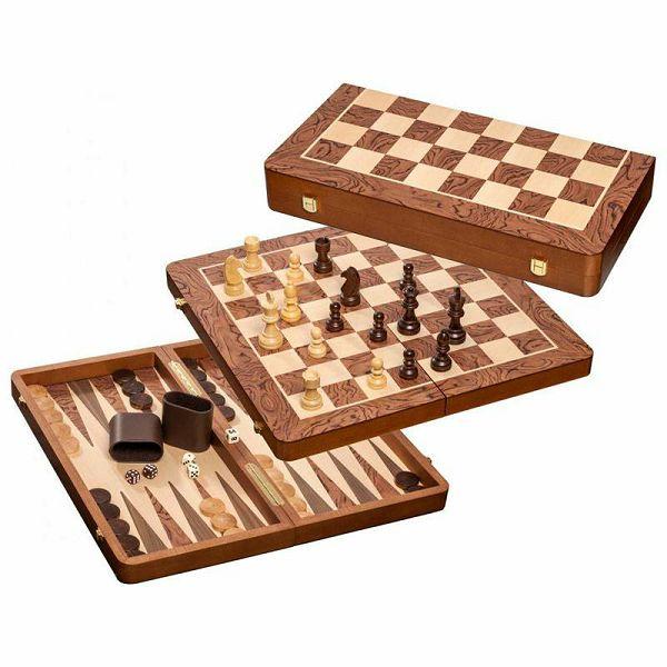 Šah & Backgammon & Dama No. 2520