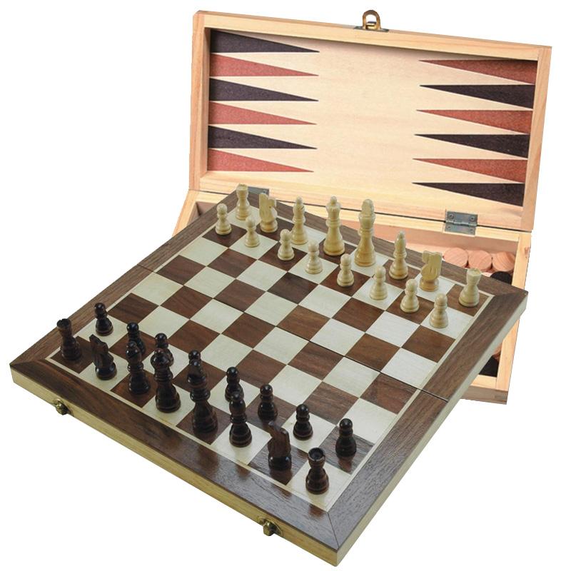 Šah & Backgammon & Dama Set
