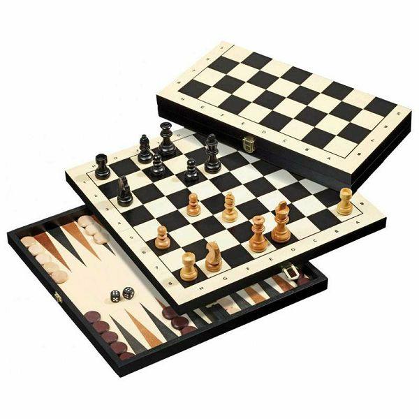 Šah & Backgammon & Dama Travel No. 2511