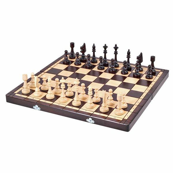 Šah Club Inlaid 48 x 48 cm