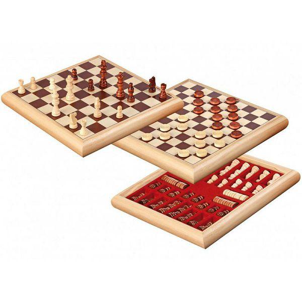 Šah & Dama Set No. 2803