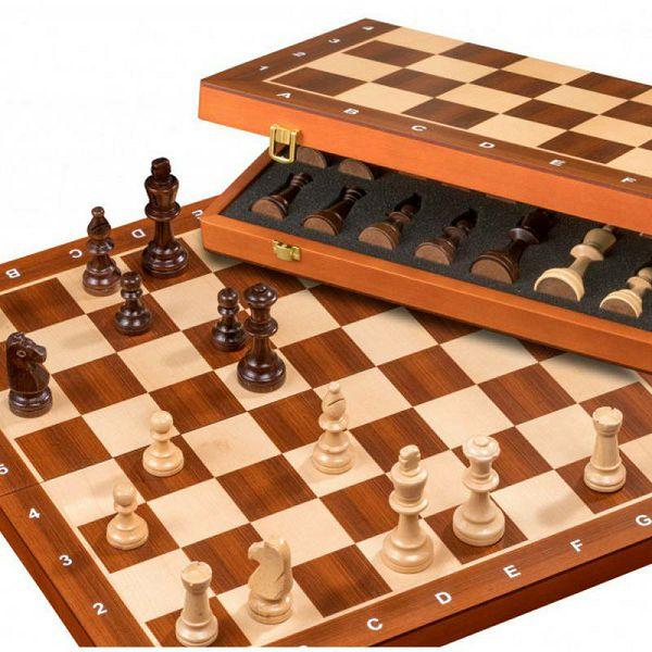 Šah De Luxe 47.5 x 47.5 cm