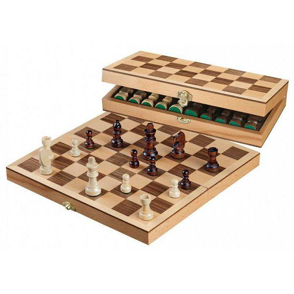 Šah drveni 30 x 30 cm