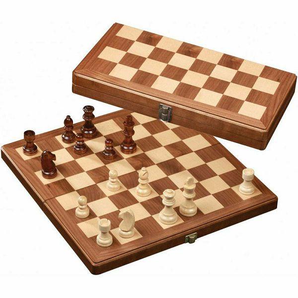 Šah drveni Medium 30 x 30 cm