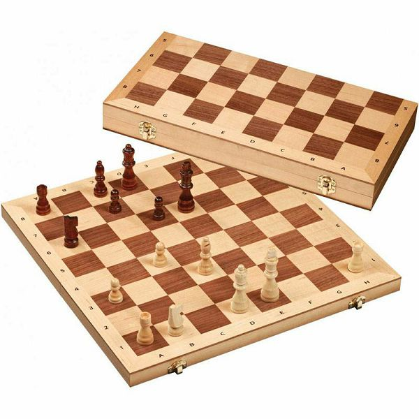 Šah drveni No. 2607 40 x 40 cm