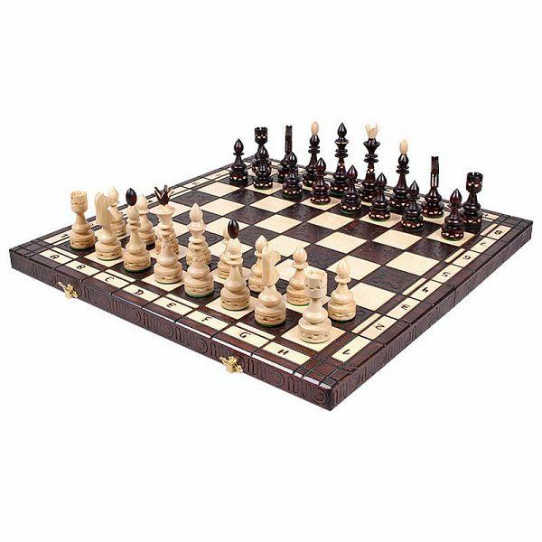 Šah Indian Inlaid 54 x 54 cm