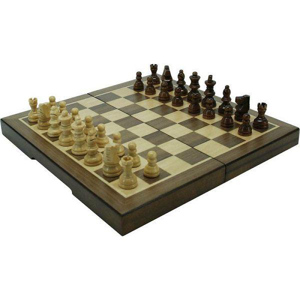 Šah Magnetic Walnut 23 x 23 cm