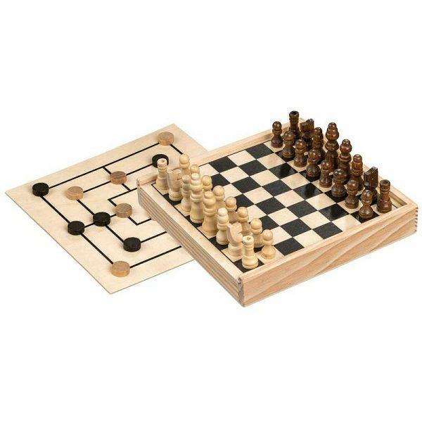 Šah & Mlin 15 x 15 cm