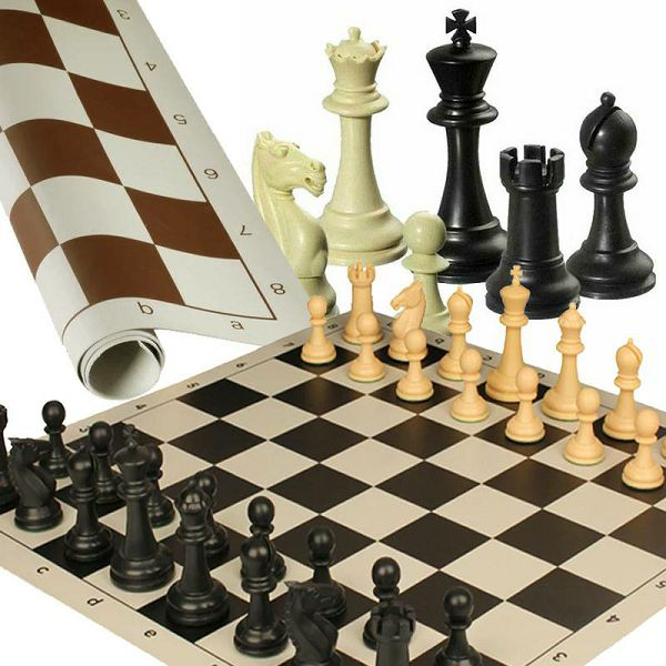 Šah Roll-Up 40 x 40 cm