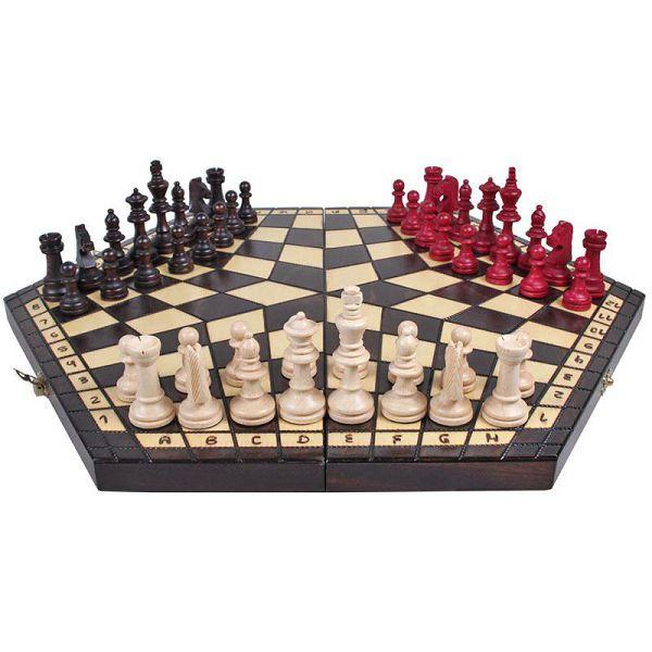 Šah Three Players 47 x 47 cm