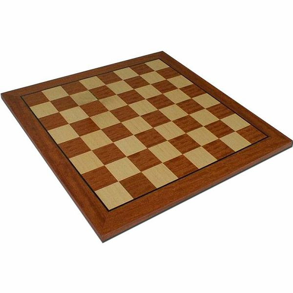 Šahovska ploča mahagonij / javor 44 x 44 cm