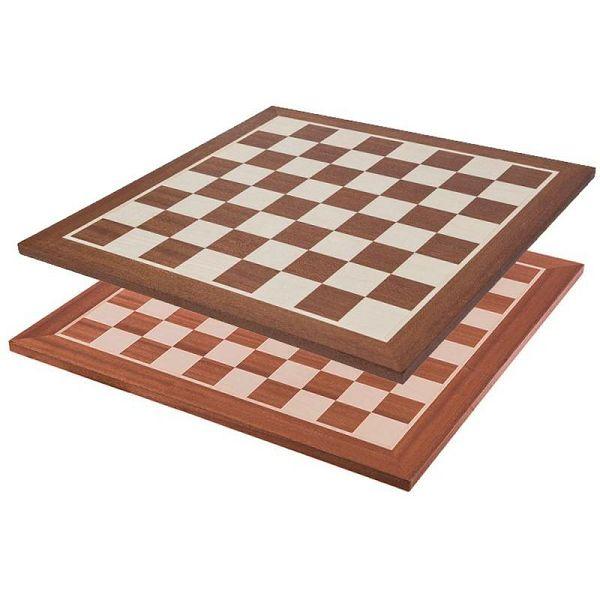 Šahovska ploča Mahagonij / Javor 48 x 48 cm