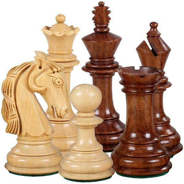 Šahovske figure Colombian Acacia/Boxwood 3.5