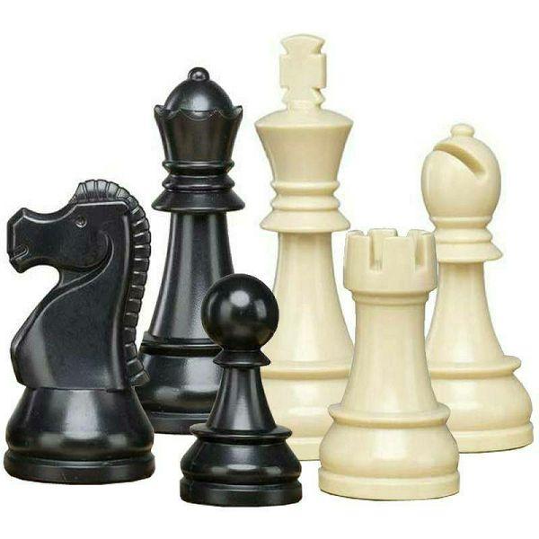 Šahovske figure DGT Plastic 95 mm