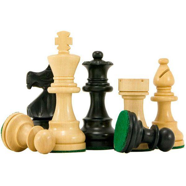 Šahovske figure French Staunton 6 Ebonised