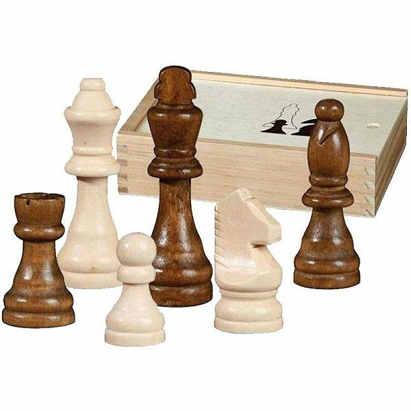 Šahovske figure Otto I Staunton KH 76 mm