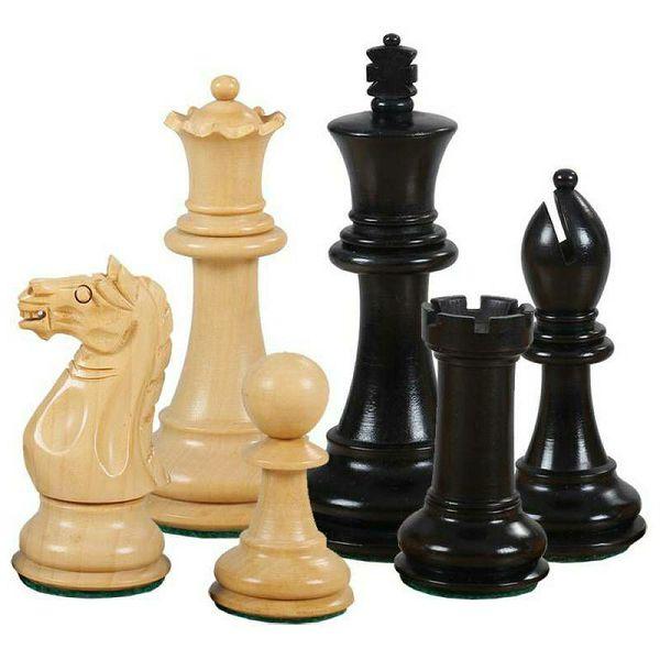 Šahovske figure Oxford Ebonised 3.75''