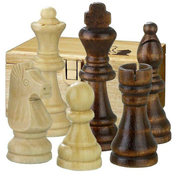 Šahovske figure Remus Staunton KH 76 mm
