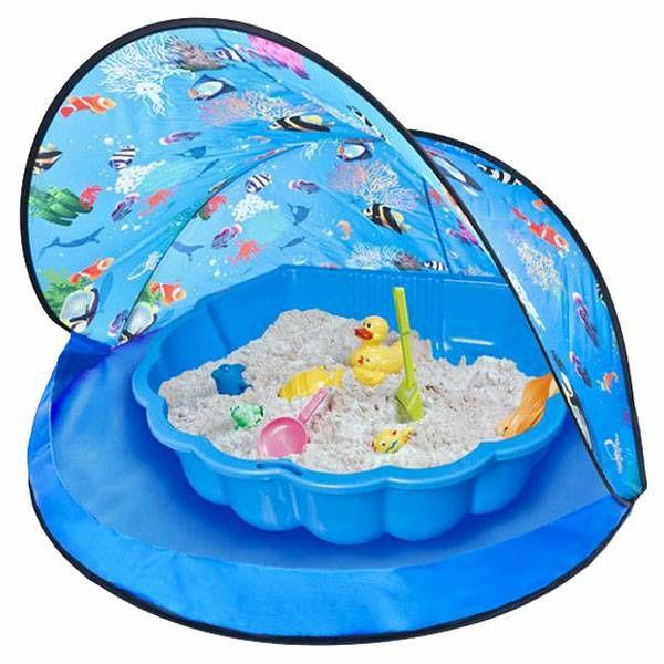 Šator za igru Paradiso Blue & Pijesak