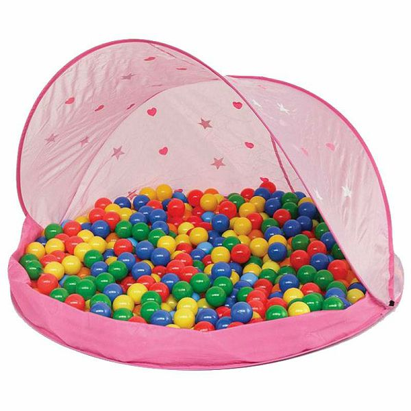 Šator za igru Paradiso Pink & Loptice