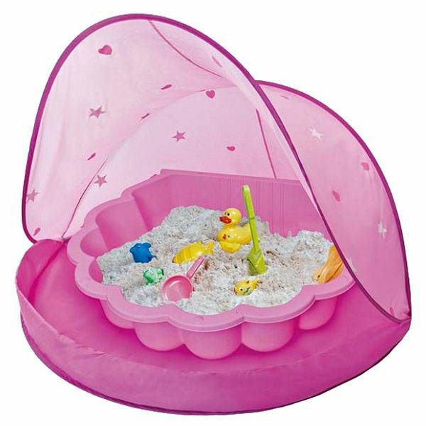 Šator za igru Paradiso Pink & Pijesak