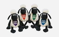 Shaun the Sheep ZipperMix 25 cm