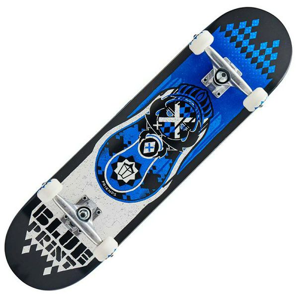 Skateboard Blueprint Babushka V2 Blue 8