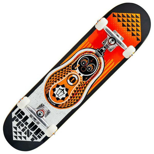 Skateboard Blueprint Babushka V2 Orange 7.75