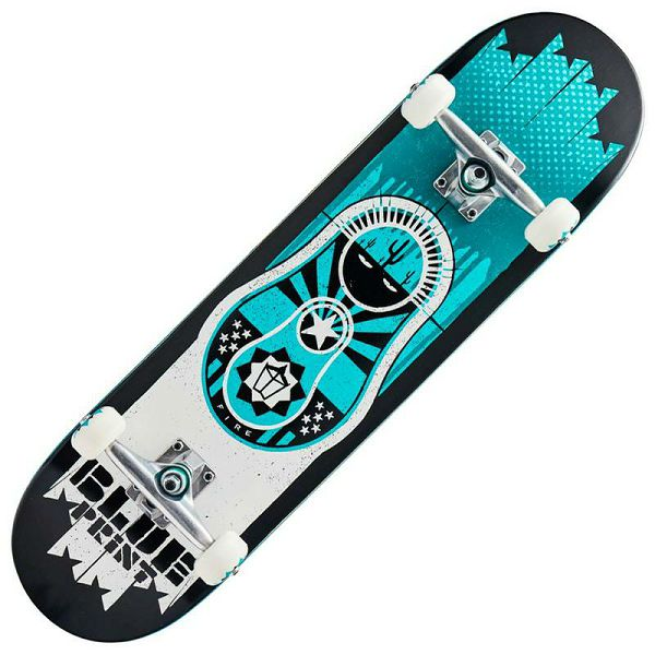Skateboard Blueprint Babushka V2 Teal 8.25