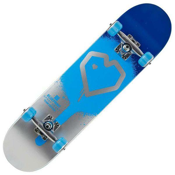 Skateboard Blueprint Spray Heart V2