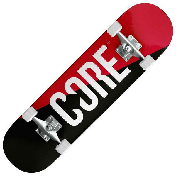 Skateboard Core® Split Red 7.75