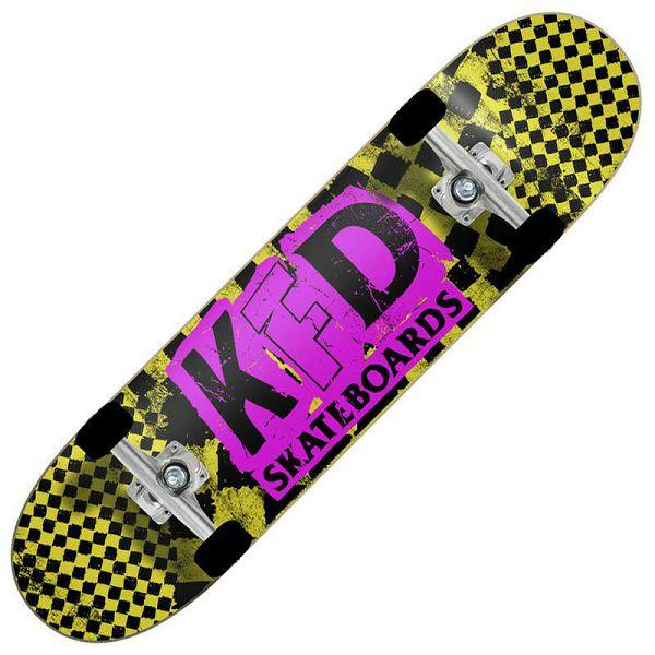 Skateboard KFD Ransom Yellow 7.75