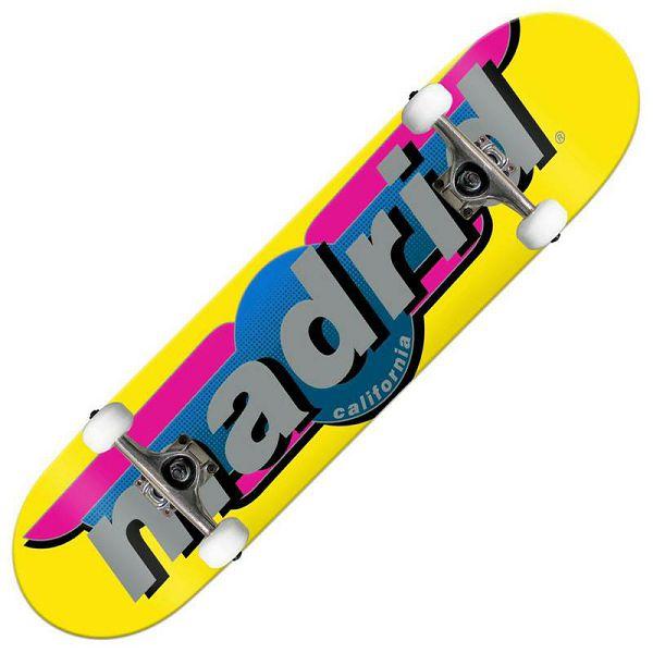 Skateboard Madrid Yellow 7.75