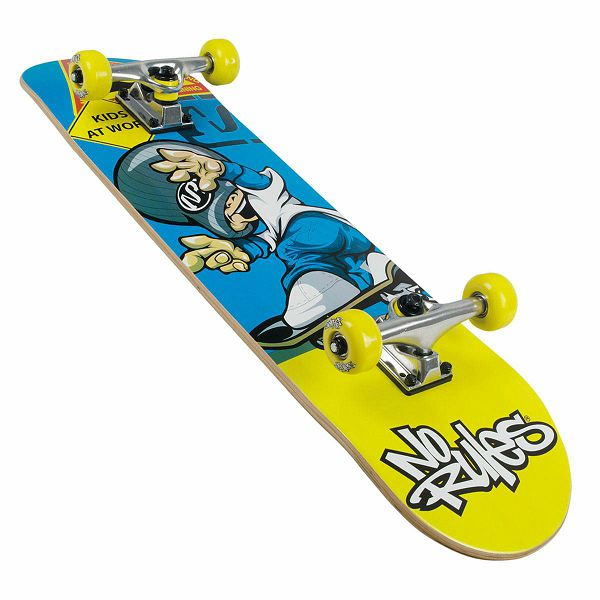 Skateboard No Rules Drempels