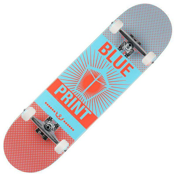 Skateboard Pachinko Salmon 8.25