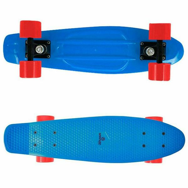 Skateboard Plastic Board blue