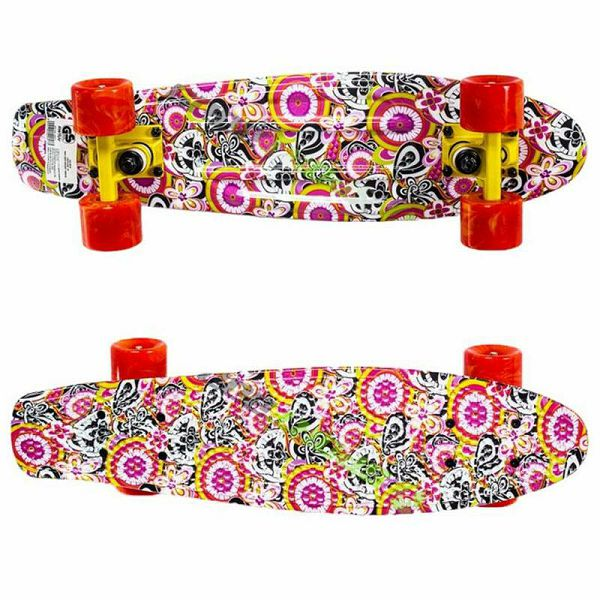 Skateboard Plastic Flower