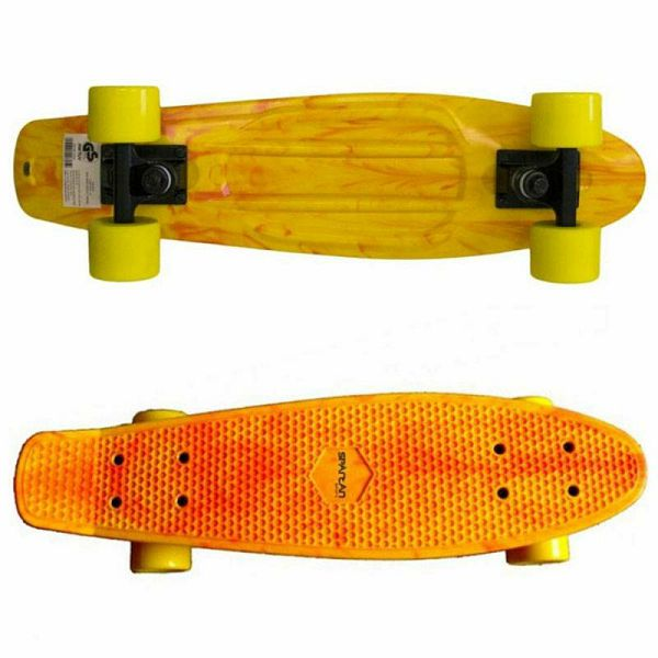 Skateboard Plastic Yellow