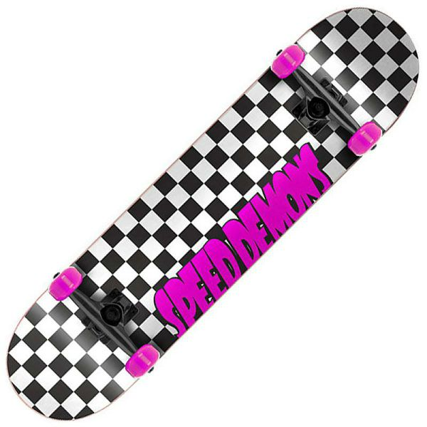 Skateboard Speed Demons Checkers