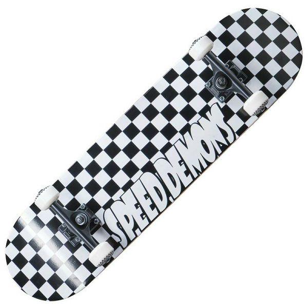 Skateboard Speed Demons Checkers 8