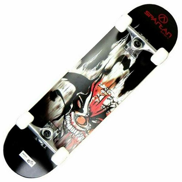 Skateboard Utop Skull Demon