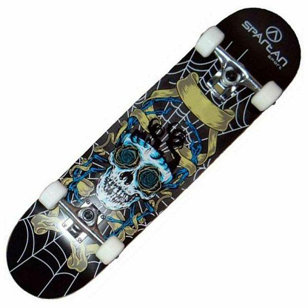 Skateboard Utop Skull Net
