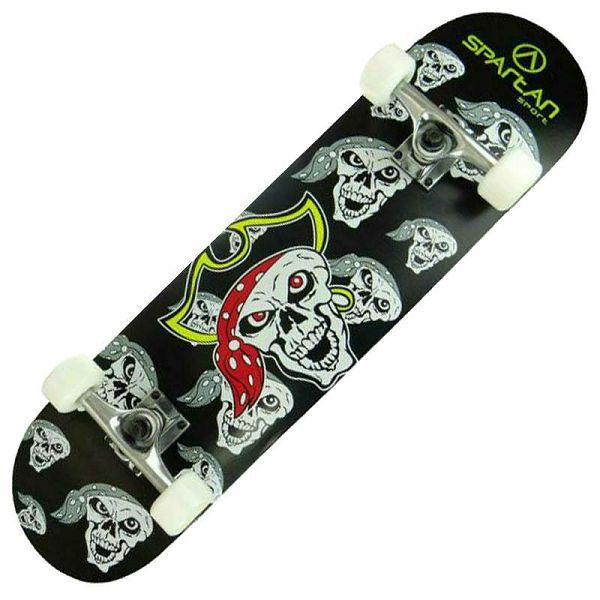 Skateboard Utop Skull Pirate